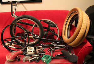 BMX Parts - Frames Cranks Wheels + More READ DESCRIPTION