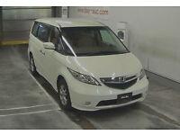 FRESH IMPORT 54 PLATE HONDA ELYSION STEP WAGON V TEC PETROL AUTO LUXURY 4WD MPV