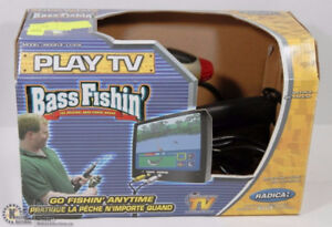 PLAY TV BASS FISHIN' GO FISHIN' ANYTIME