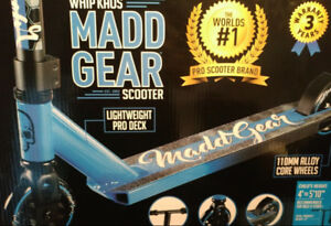 MADD GEAR WHIP KAOS PRO SCOOTER (BRAND NEW IN BOX) $190