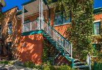 Plateau - Duplex double occupation - Bâtisse de 25 par 70