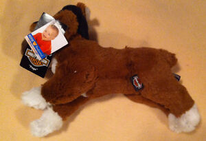 12`plush  HARLEY DAVIDSON Boxer NEW w/tags attached