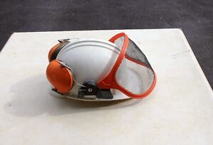 Hard Hat with Visor and Muffs