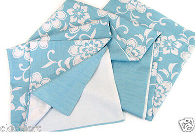 """Table Cloth Japanese Wrapping Fabric Oriental Asian 59x59""""(150x150cm) Cotton #12"""