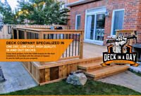 Deck Builder Starting at $11 SF
