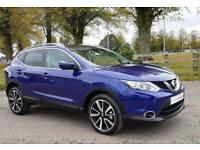 2017 67 Nissan Qashqai 1.6dCi Tekna 4X4 diesel manual with Glass Roof