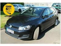 Volkswagen Golf 2.0TDI 150ps s/s SE 2013 63 plate with 16k miles