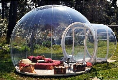 Brand New Stargaze Outdoor Single Tunnel Inflatable Bubble Camping Tent  for sale  Shipping to Canada