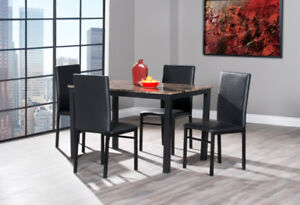 Oslo 5pc dining set $349 TAX INCLUDED!