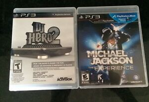 Michael Jackson music lot PS3