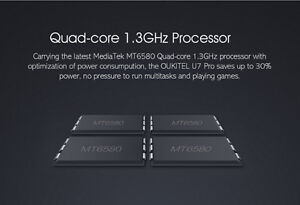 U7 Pro 5.5'' Android 5.1 4Core 13.0MP 1GB 8GB Unlocked West Island Greater Montréal image 3
