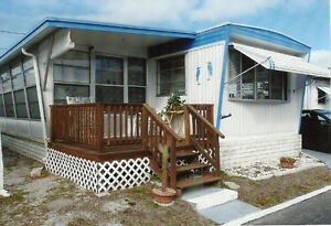 Maison mobile, crosswind mobile home, st-petersburg, FLORIDE