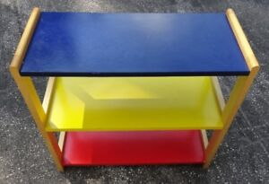 Ikea Childs Colourful Shelving Unit