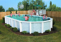 Swimming pool sitting rite infront of you dont wait call today