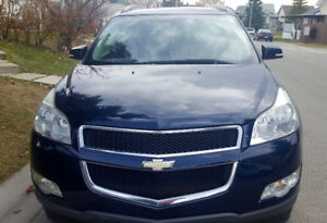 2009 Chevrolet traverse seven seater with very low kilometers