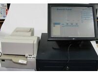 EPOS Till with Cash Drawer Touch Screen - Printer Included - Software INCLUDED Salon