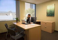 WORK SMARTER. CONCENTRATE BETTER. PROFESSIONAL OFFICES FOR LESS!