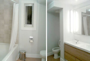 RENTED/LOUÉ mid January! Large Bright Student Apt in PLATEAU