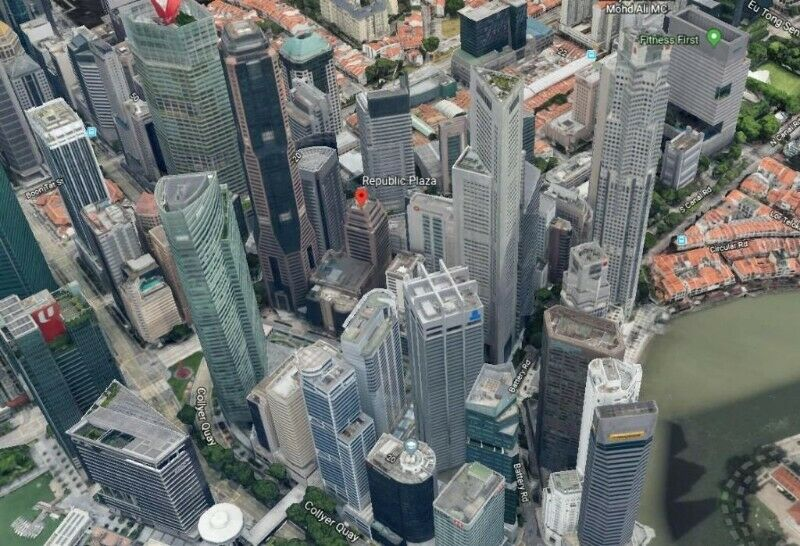 Raffles Place Grade A Office For Rent
