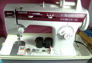 Singer Sewing Machine 3145 Merritt-26 PATTERNS+ZIGZAG/Buttonhole