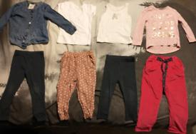 Bundle of girl's clothing, size 2-3 years.
