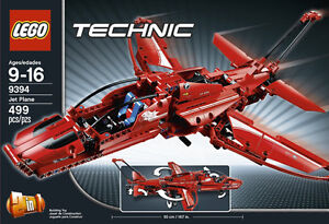 LEGO TECHNIC Jet Plane - RETIRED and FACTORY SEALED