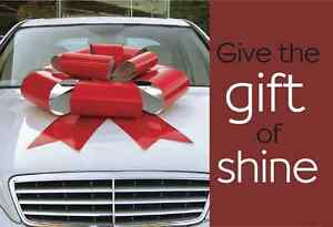 Car Cleaning & Detailing Gift Certificates For The Holidays