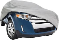 CAR COVERS - LARGE ENOUGH TO FIT MEDIUM SUV SIZE VEHICLES