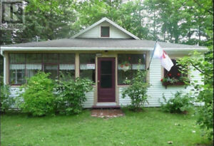 Cottage on a double lot