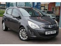 2012 VAUXHALL CORSA 1.7 CDTi ecoFLEX SE GBP30 TAX, LTHER and 16andquot; ALLOYS
