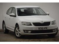 Skoda Octavia 1.6 TDI CR SE (white metallic) 2015