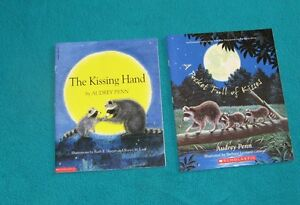The Kissing Hand and Pocketfull of Kisses by Audrey Penn