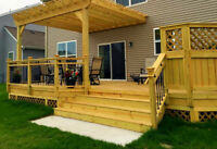 CARPENTER BUILT DECKS AND FENCES GAURUNTEED LOWEST PRICES