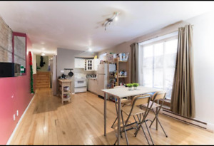 Summer sublet on Rue st Famille