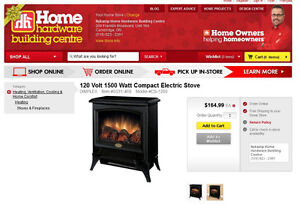 Dimplex Electric Wood STOVE HEATER SEE VIDEO Kitchener / Waterloo Kitchener Area image 5