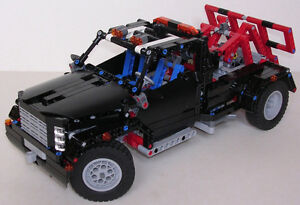 LEGO TECHNIC 9395 PICK-UP TOW TRUCK/CAMIONETTE DE REMORQUAGE
