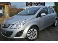 2013 (62) VAUXHALL CORSA 1.2 ENERGY A/C 5DR - 1 LADY OWNER - FVSH - BLUETOOTH