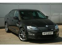 Skoda Octavia 2.0 TDi CR vRS (184bhp) (black magic metallic) 2015