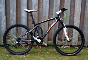 Kranked 24 Speed Full Suspension Disc Brakes Mountain Bike
