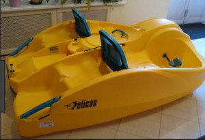 Looking for seat backs to fit a Pelican Sunkiss paddle boat