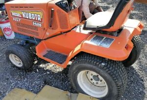 Kubota Diesel power 48 inch cut lawnmore