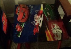 Pixar Cars Toddler Table
