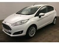 2014 WHITE FORD FIESTA 1.0 ECOBOOST 100 TITANIUM X HATCH CAR FINANCE FR £29 PW