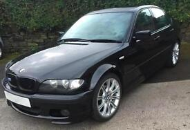 BMW 325 2.5 i M SPORT SALOON BLACK 2004