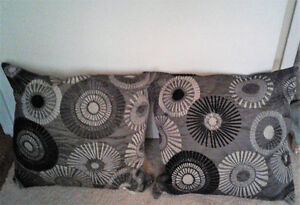 Matching Pair Of Decorative Accent Pillows