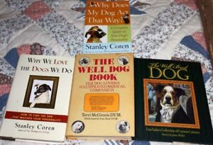 """4 Books About Dogs  """"Why my dog acts that way"""""""