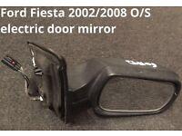 2002/2008 ford fiesta o/s electric door mirror
