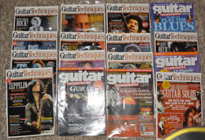 Guitar Magazines and Tab/Instruction Books