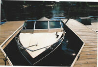 Grew inboard/outboard Closed Bow Boat