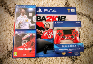 BNIB PS4 Dualshock 4 Wireless Controller (Red)
